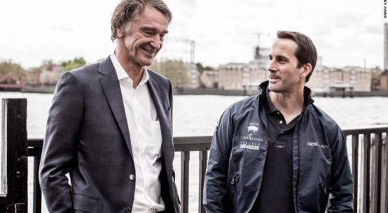 Britain's richest man invested $153m in the America's Cup