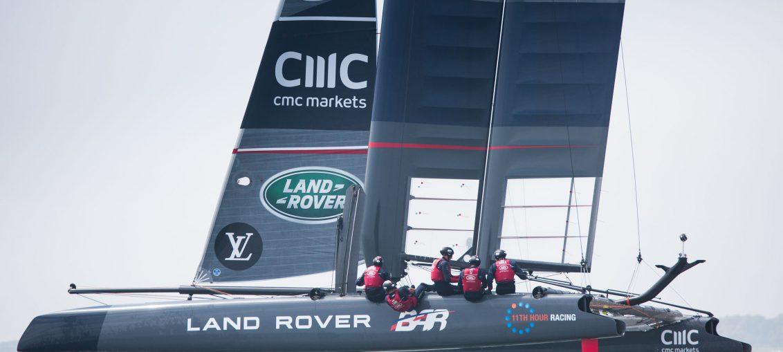 America's Cup: Ben Ainslie's World Series-winning catamaran up for sale
