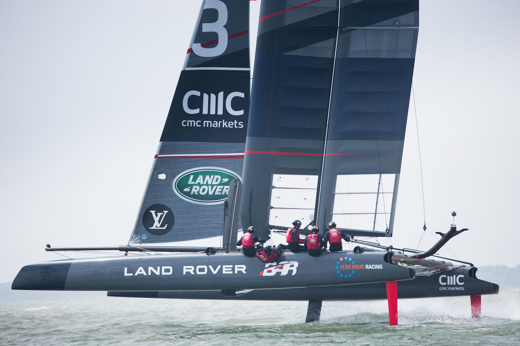America's Cup: Ben Ainslie's World Series-winning catamaran up for sale