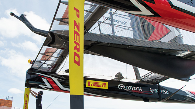 Pirelli leaves Emirates Team New Zealand to join Prada as title sponsor of America's Cup 36 Challenger of Record Luna Rossa.