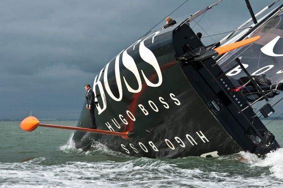 Route du Rhum: Alex Thomson's IMOCA 60 Hugo Boss remeasured