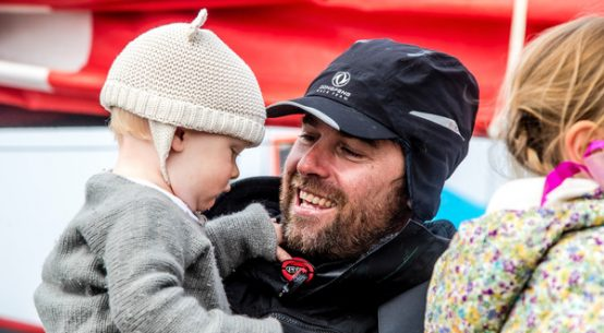 Volvo Ocean Race: Father and ocean racer – Daryl Wislang's story