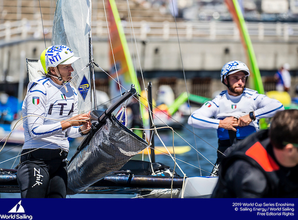 Olympic sailing: Sailing World Cup Enoshima regatta by the numbers