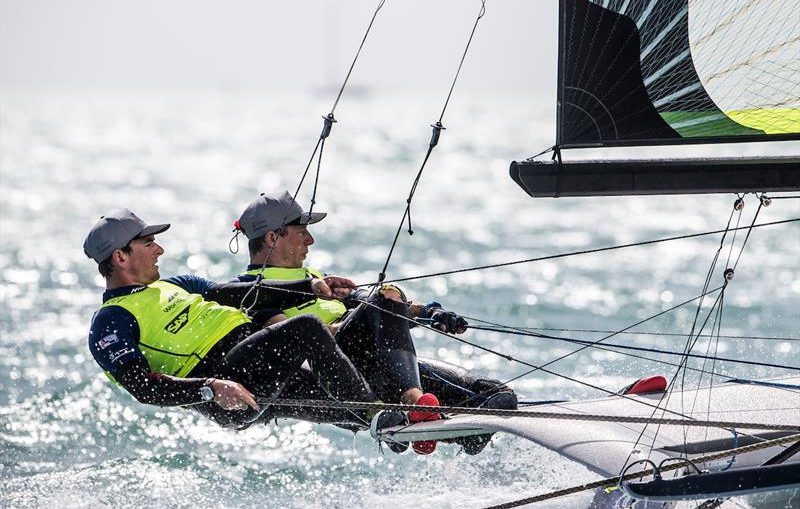 Olympic sailing: Video profile of leading British 49er pair Dylan Fletcher-Scott & Stuart Bithell