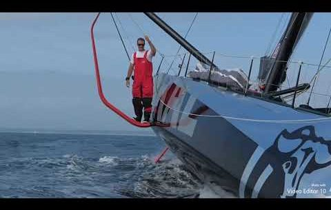 New video of Jeremy Beyou IMOCA 60 Charal