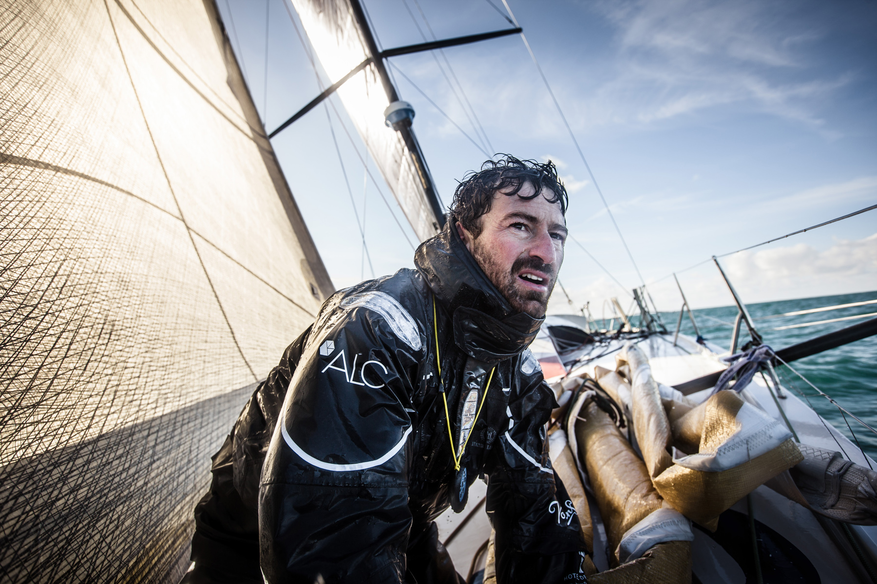 Phil Sharp Route du Rhum pre-start interview