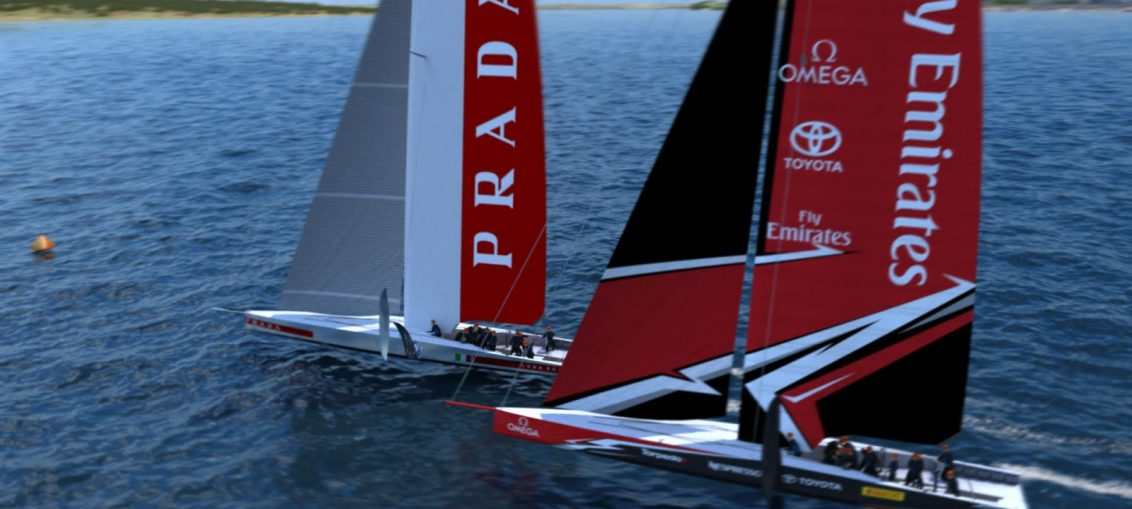 European sailing fans will be the first to see the new generation of high-performance America's Cup foiling monohulls race competitively at two America's Cup World Series events planned to take place in Italy next year.