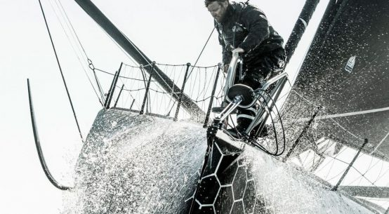 Alex Thomson goes electric on new IMOCA 60.