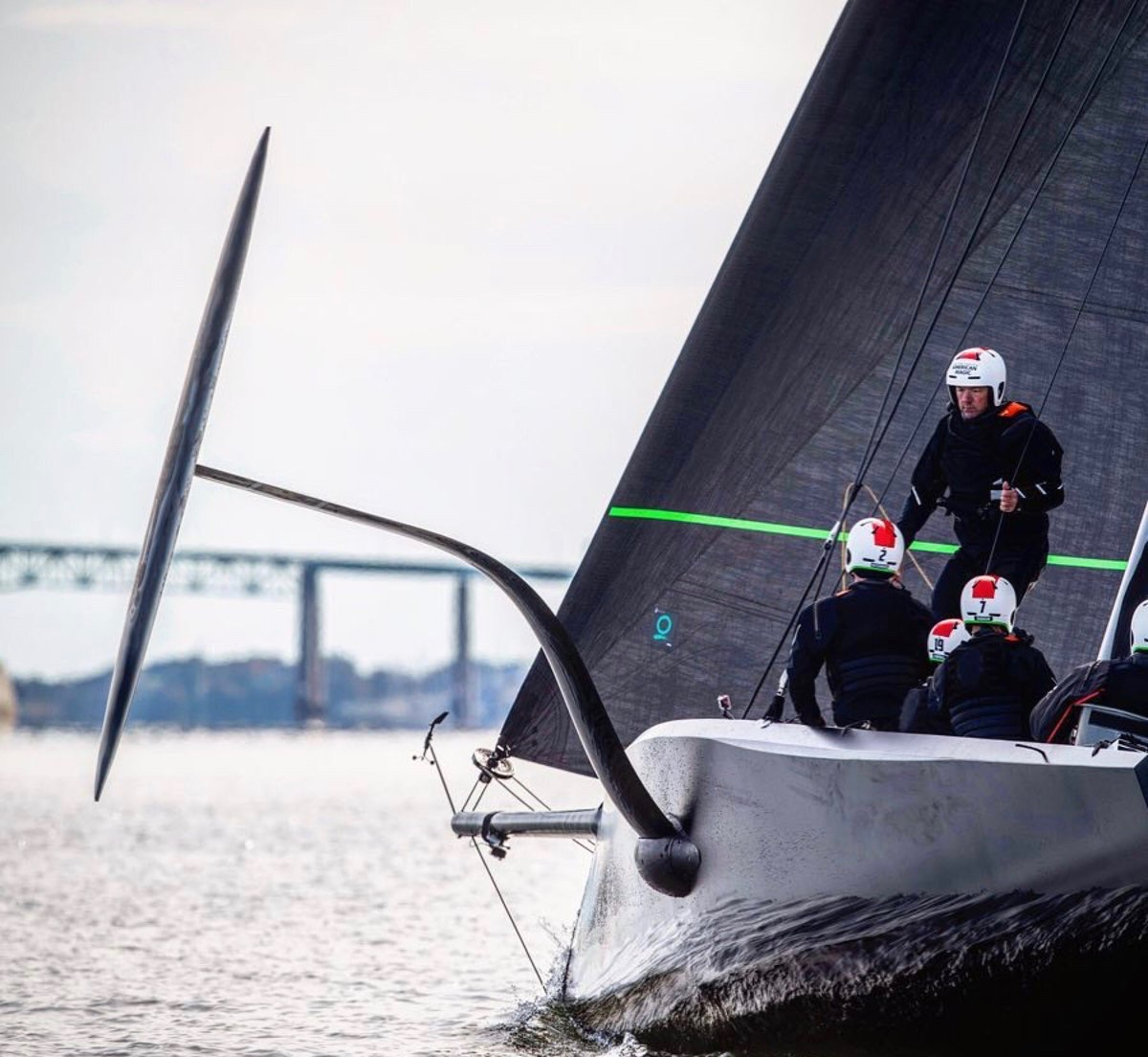 American Magic launches America's Cup test boat