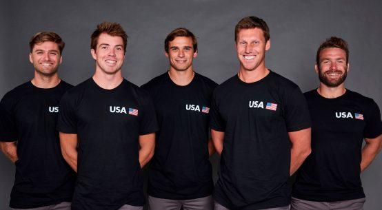 Rome Kirby leads United States SailGP Team.