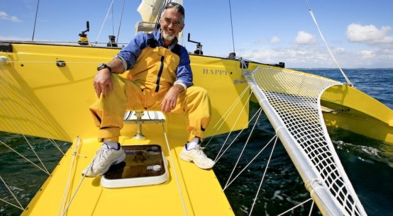 Final Route Du Rhum says Loïck Peyron.