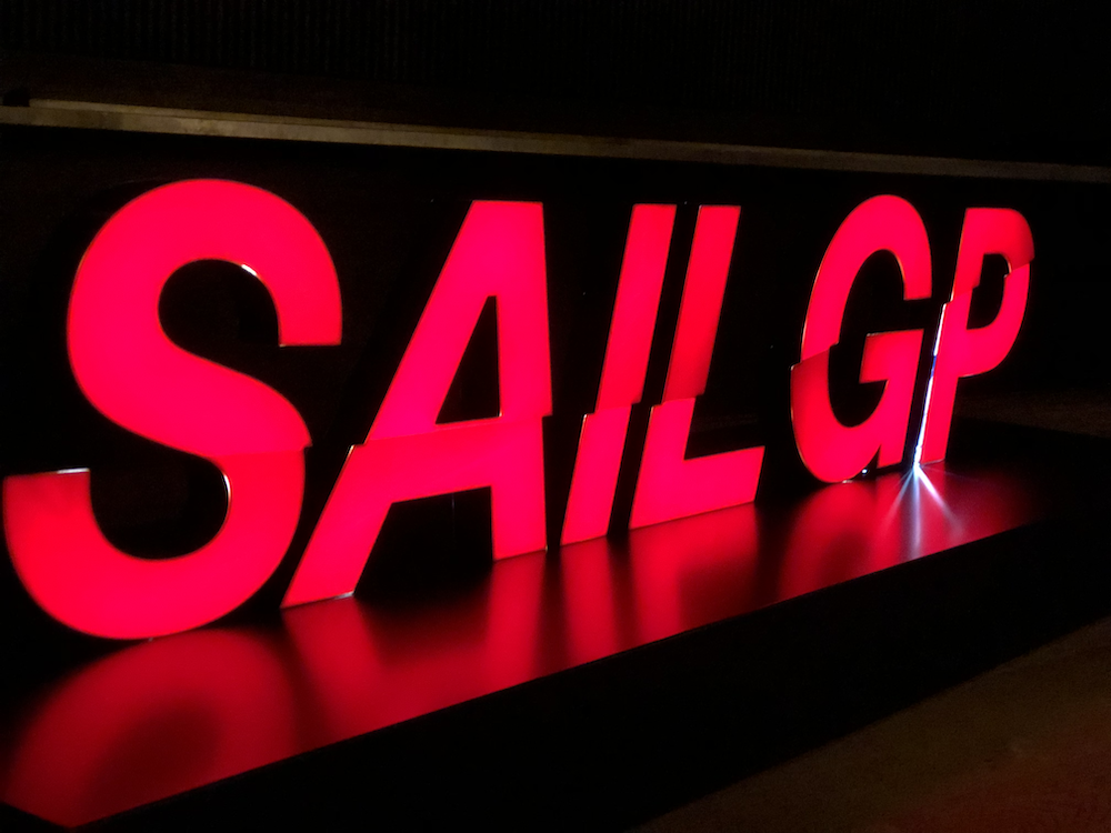 Larry Ellison and Russell Coutts' SailGP professional sailing league has been revealed at a spectacular London launch event.