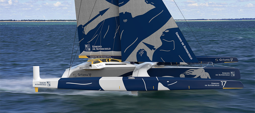 Gitana builds Route du Rhum atmosphere.