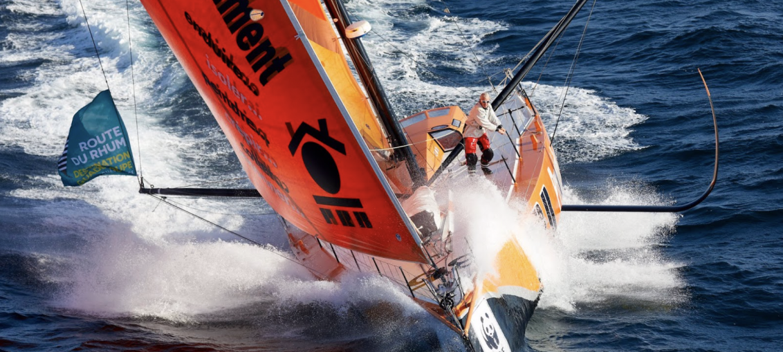 Vincent Riou adds foils to PRB IMOCA 60.
