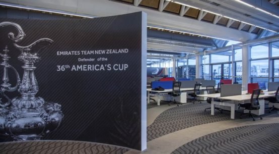 America's Cup Defender new base move