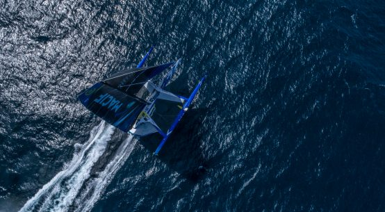 MACIF Route du Rhum training