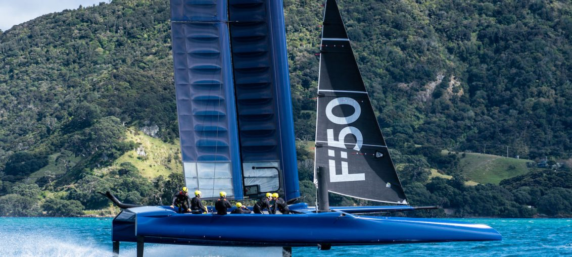 SailGP: Fast and furious training in NZ