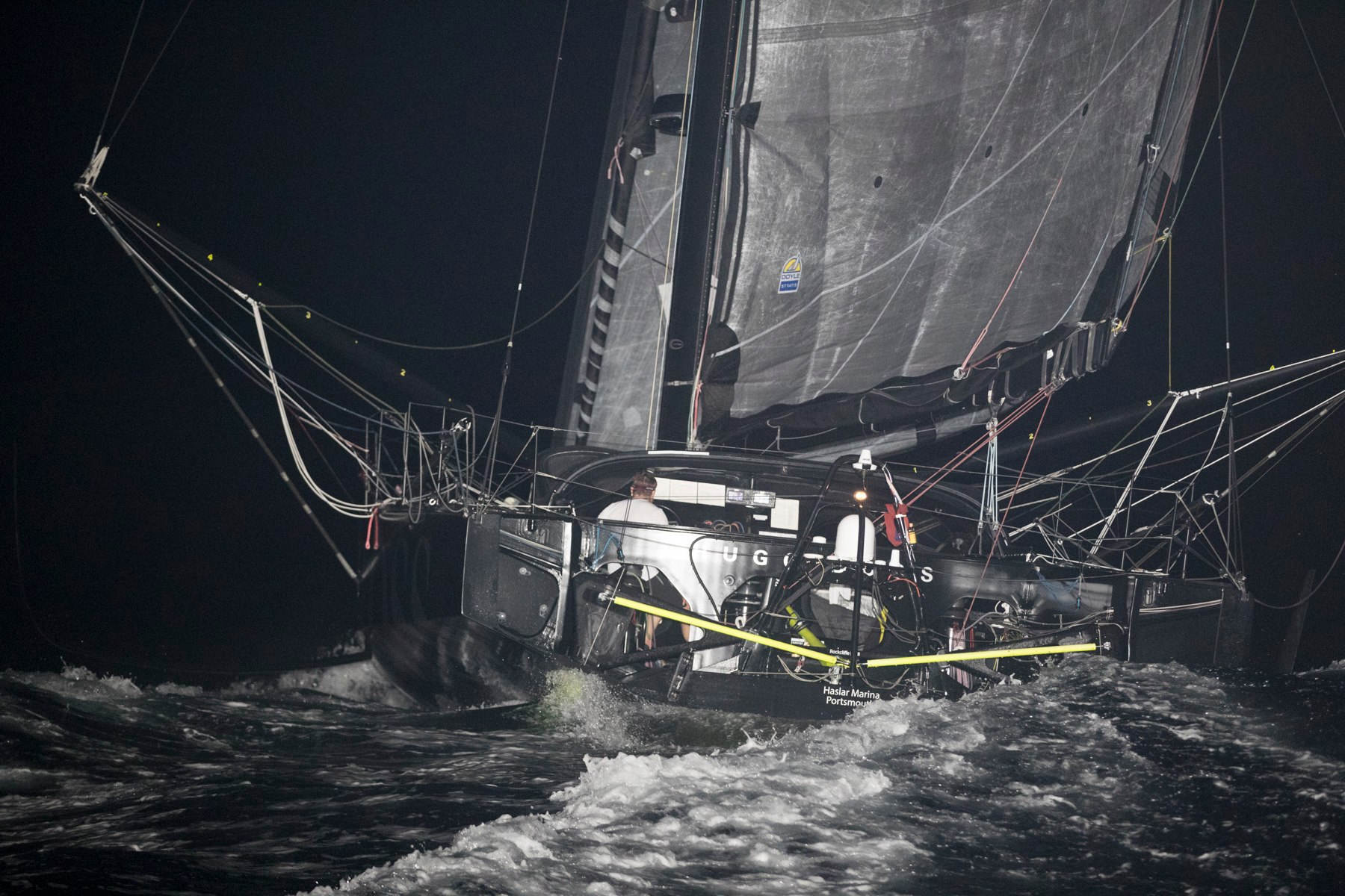 Route du Rhum Alex Thomson runs aground in Guadeloupe