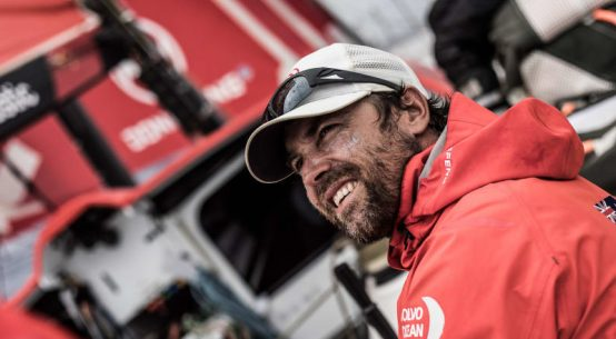 Daryl Wislang on the Volvo Ocean Race