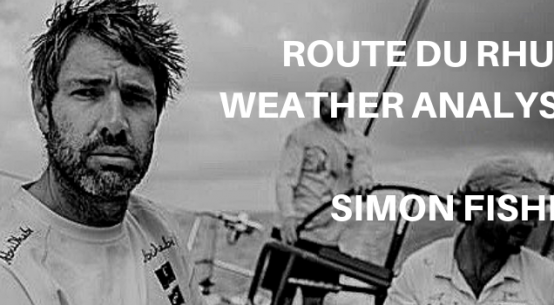 Simon Fisher Route du Rhum weather analysis