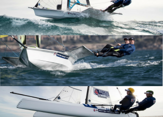 UK to host 2019 Nacra 17, 49er & 49FX European Championships