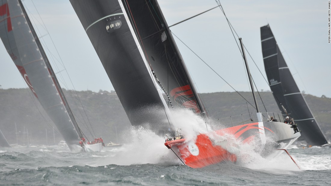 Five 100-footers eye new Sydney Hobart Race record