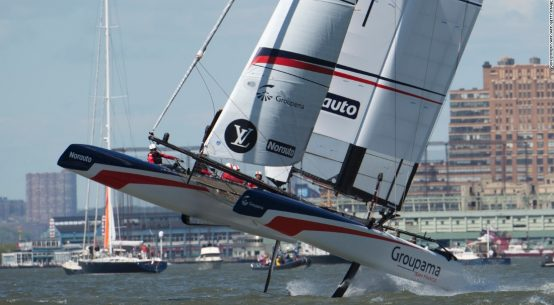 America's Cup: Team France bows out