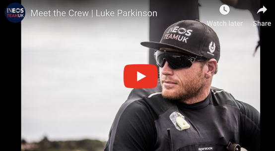 Luke Parkinson on the America's Cup with INEOS Team UK