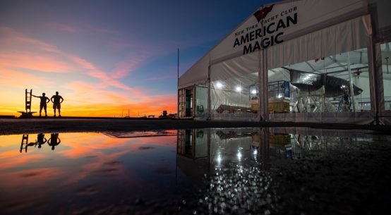America's Cup: American Magic fly south for the winter.