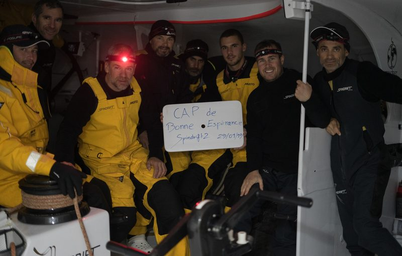 Icebergs await as Spindrift 2 crew begin Indian Ocean crossing