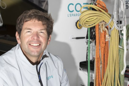 Nicolas Troussel building new generation IMOCA 60 for Vendee Globe