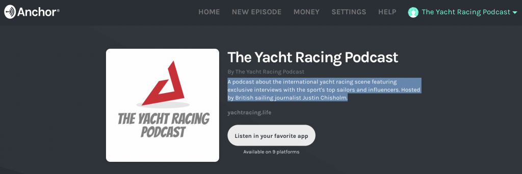 The Yacht Racing Podcast