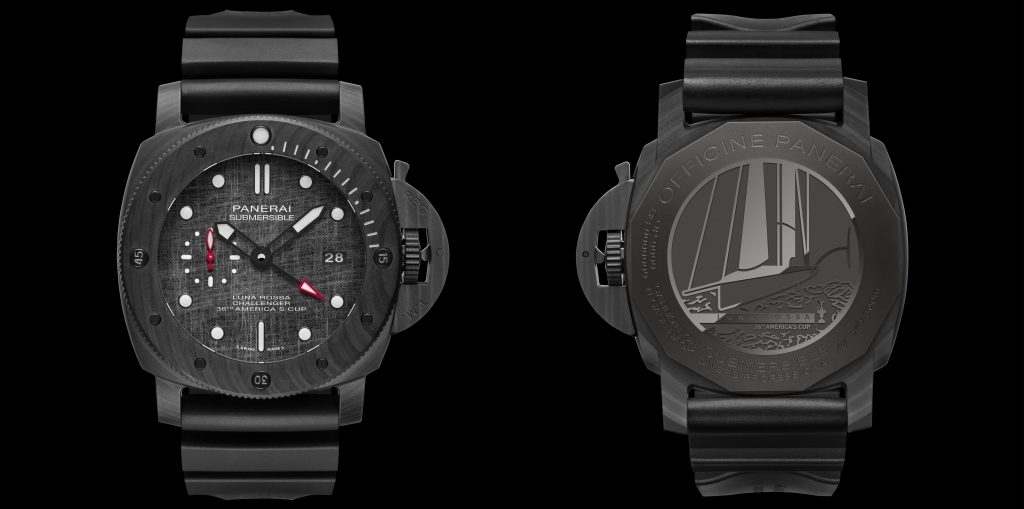 Panerai signs with Luna Rossa for 36th America's Cup