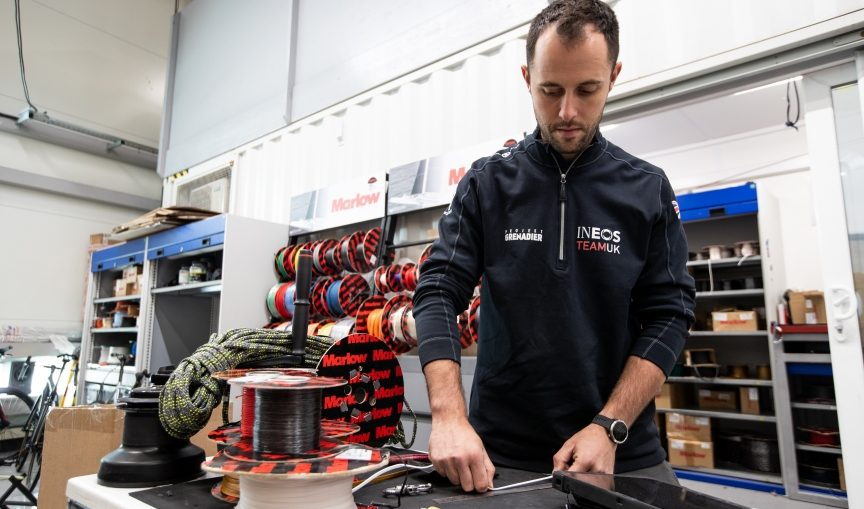 Ropes are back on the boats for America's Cup 36.