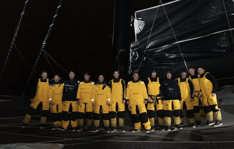 Clock starts on Spindrift 2 Jules Verne Trophy attempt