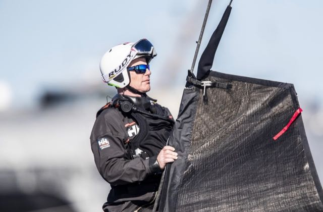 America's Cup unfinished business for American Magic skipper Terry Hutchinson