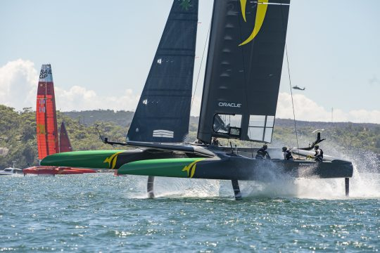 SailGP: Boat and data speeds to be tested in Sydney