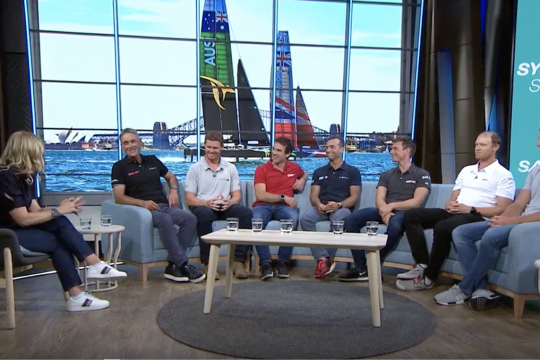 SailGP skippers' studio banter ahead of Sydney showdown