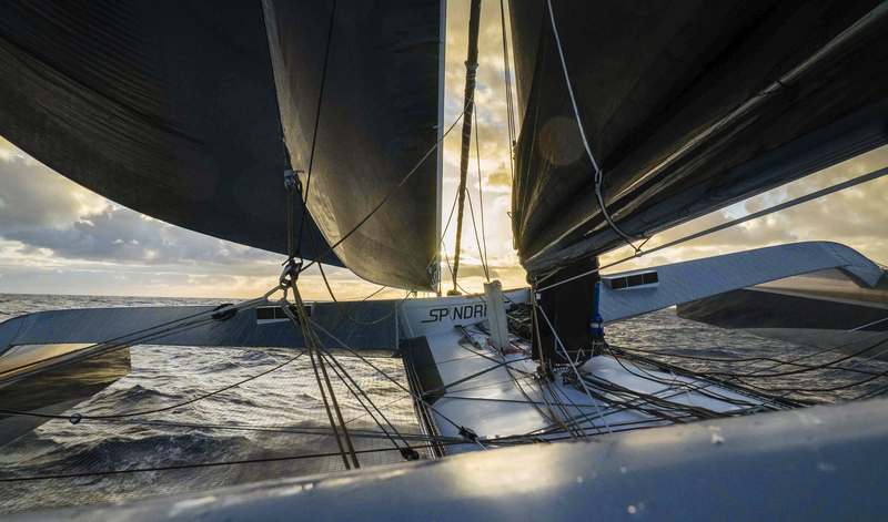Rudder damage ends Spindrift Racing RTW record attempt