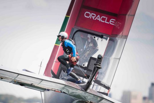 SailGP: Fletcher and Bithell on stepping up from the 49er