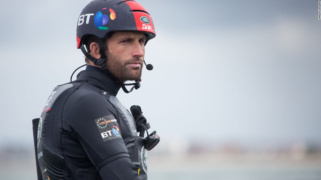 British sailor Sir Ben Ainslie – the most successful Olympic yachtsman of all time, and skipper/team principal at America's Cup challenger Ineos Team UK.