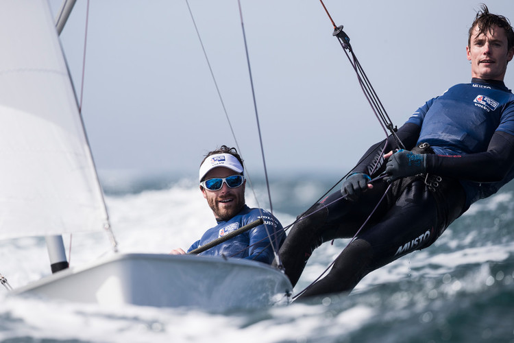 Olympic sailing: British Olympic champions aim for European 470 title