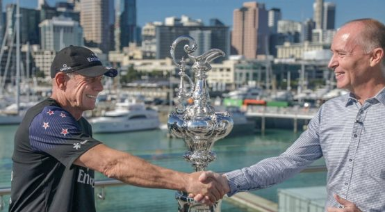 America's Cup: Z Energy partners with Emirates Team New Zealand