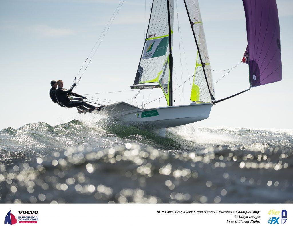 Olympic sailing: European Championship roundup