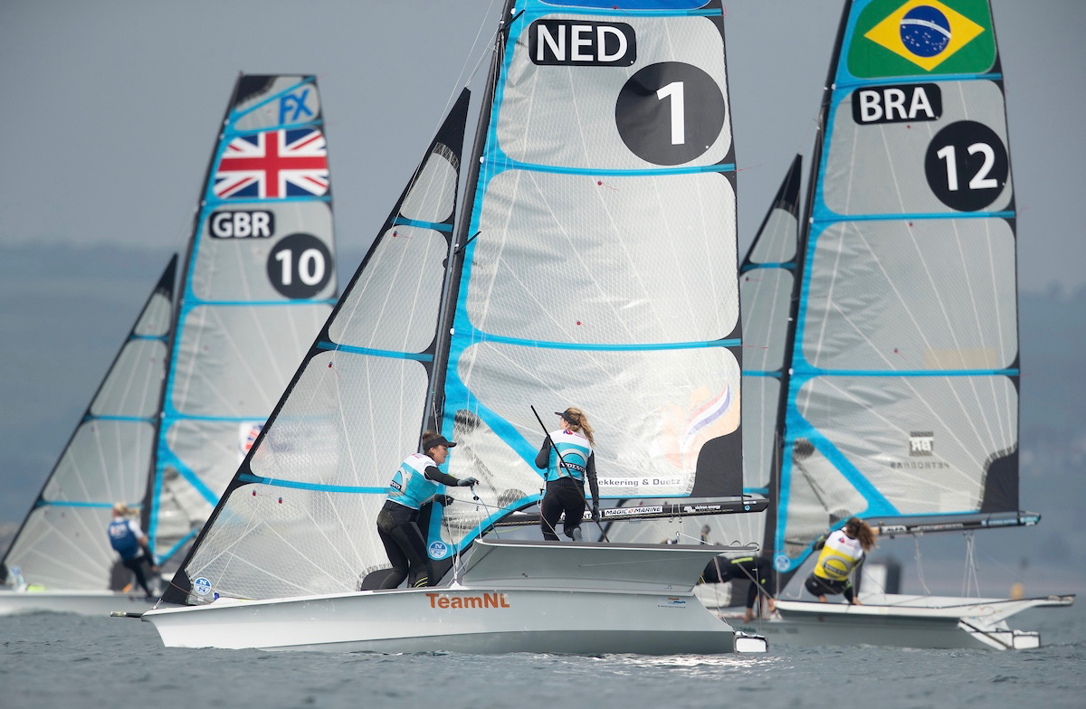 Olympic sailing: Andy Rice reports from the Volvo European Championships