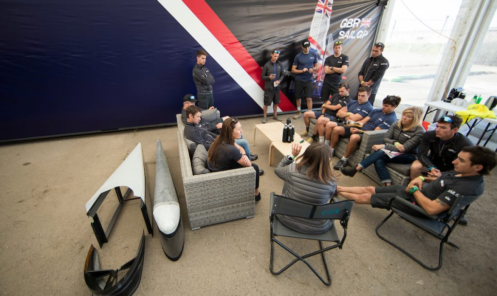 SailGP: Teams crunch the numbers in search for performance gains