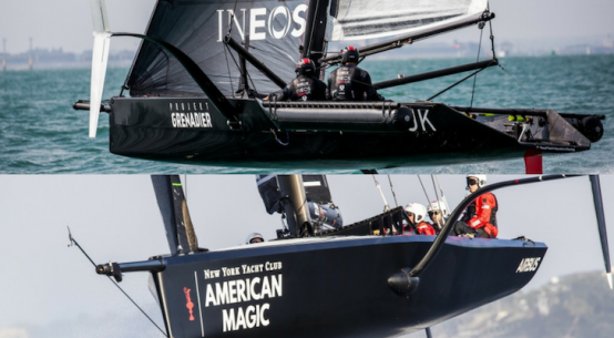 America's Cup: American and British crews report good winter progress