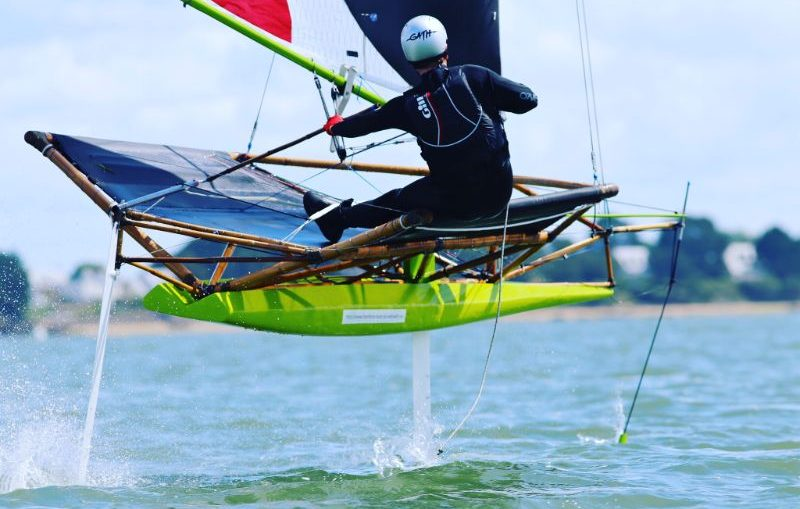 Foiling SuMoth Challenge 11th Hour Racing