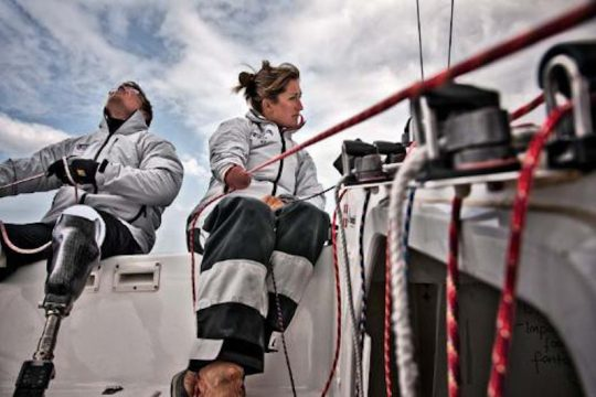 BBC website with British four-time Paralympic sailor Hannah Stodel about her plans to become the first disabled person to compete in the Vendee Globe