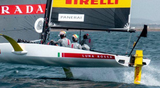 America's Cup Luna Rossa Challenge